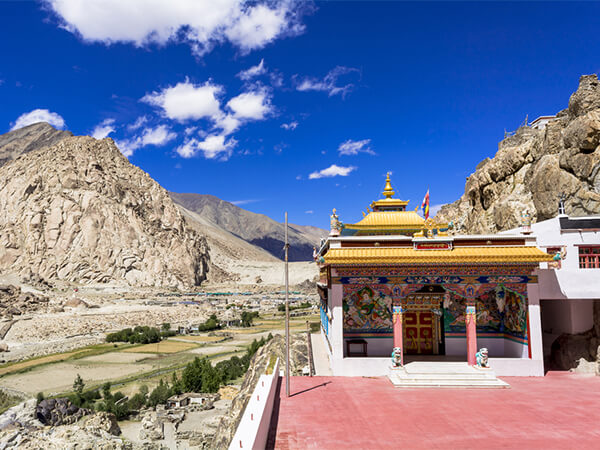 Arrival to Leh