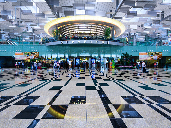 Arrive Changi International Airport