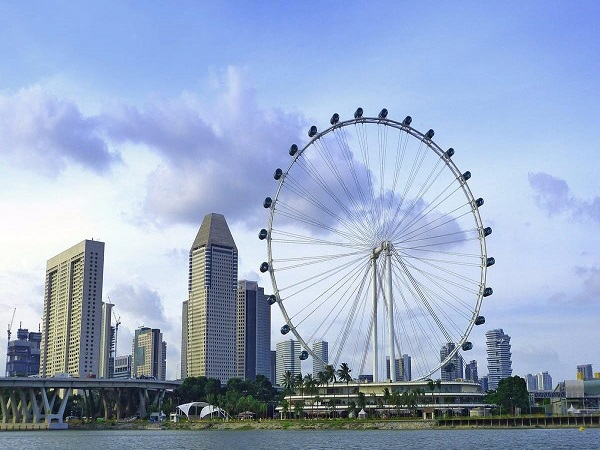 Arrive Singapore - Cruise