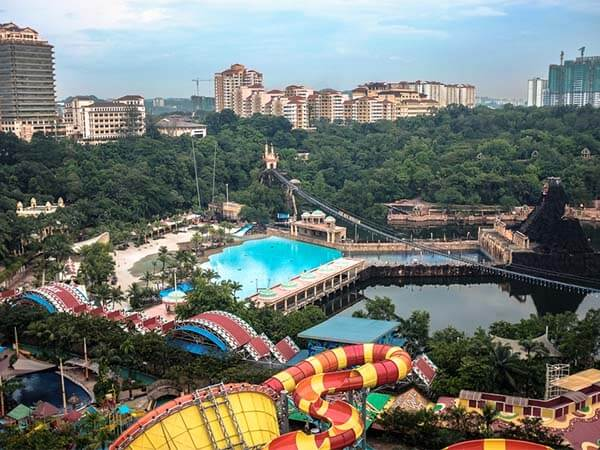 Full Day Sunway Lagoon