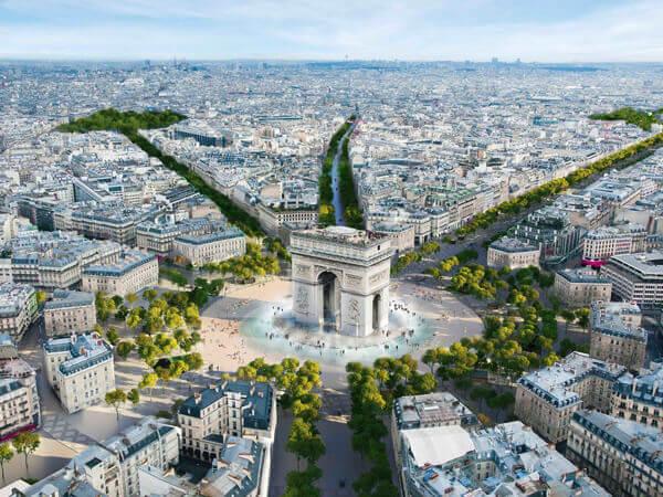 Arrive Paris