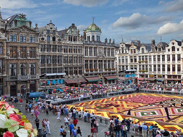 Paris - Brussels - Amsterdam