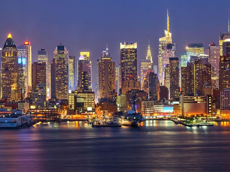 Arrival in NewYork + Manhattan Night Tour