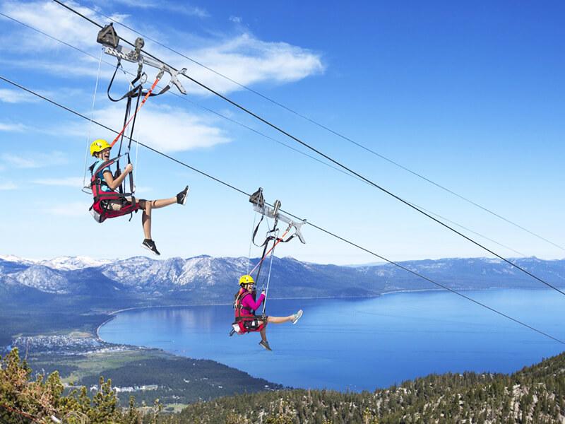 Lake Tahoe - Las Vegas