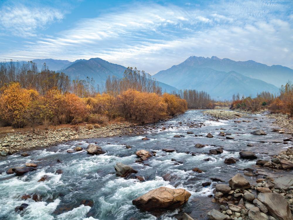 Departure from Srinagar