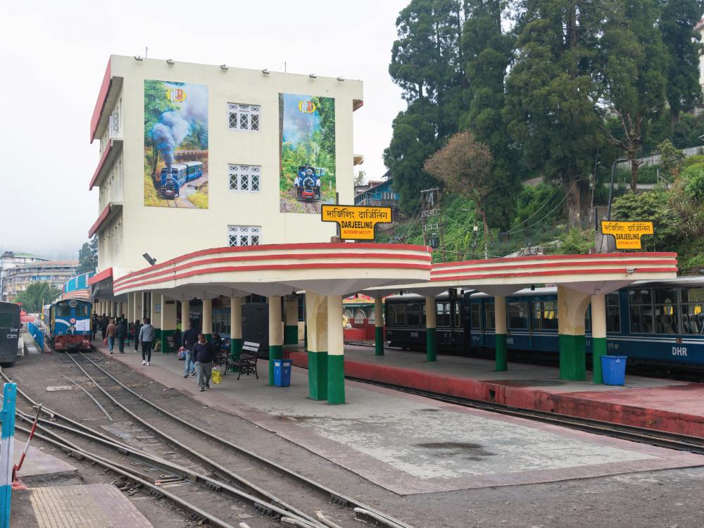Departure from Darjeeling