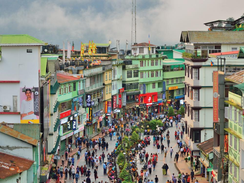 Arrival to Gangtok