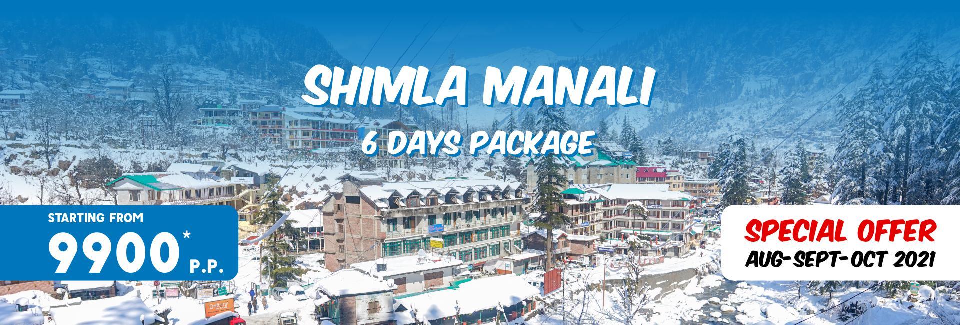 Shimla-Manali Tour Packages