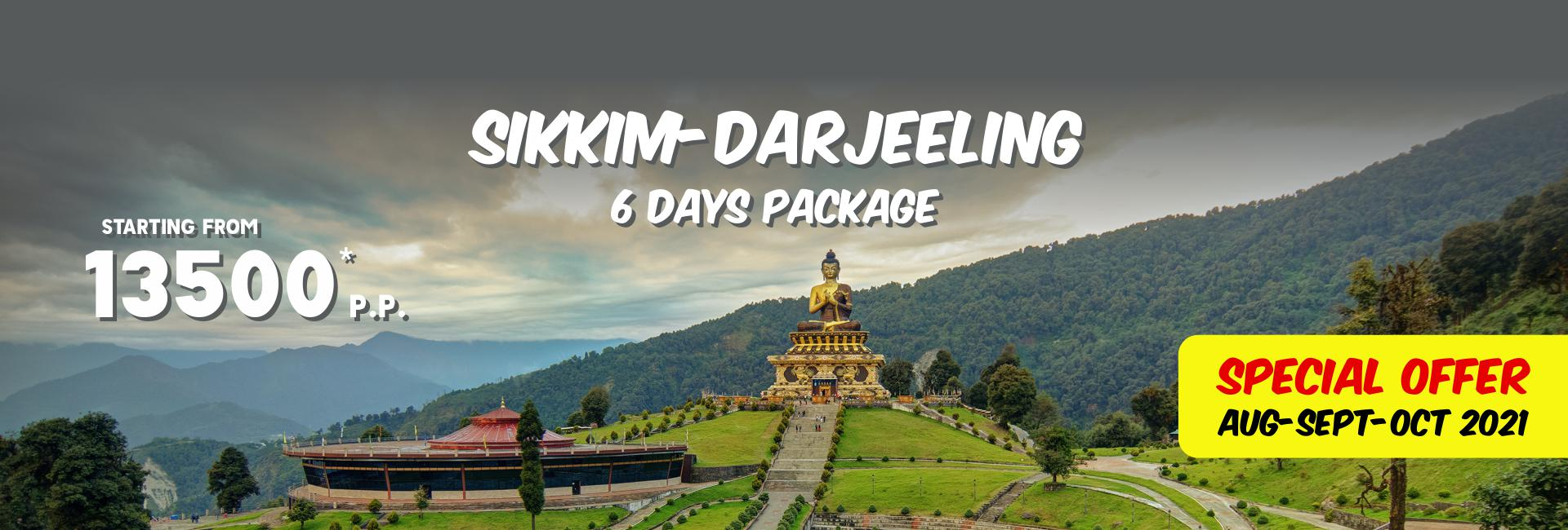 Sikkim-Darjeeling Tour Packages